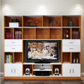 Large Capacity Wooden Furniture TV Cabinet