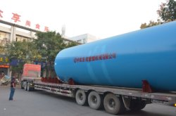The shell of 3X50m Rotary Kiln deliveried to Thailand