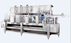 linear cone and cup filling machine