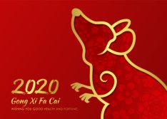 2020 Chinese Lunai New Year