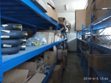 Spare parts warehouse in Tanzania