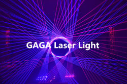 1.8W Laser Light in our showroom was showed to our customers
