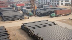 OUR WELDED PIPE STOCK FACTORY