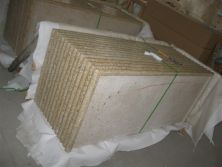 strong wooden crate for granite countertop