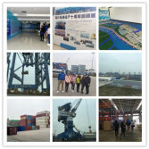 Visiting the Guangzhou Nansha wharf&storage yard of GAMER GEAR in November,2017