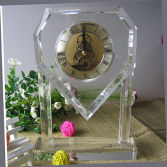 1 Crystal clock front face