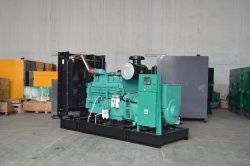 electric generator with cummins engine