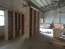 solid wood furniture wood wardrobe workplant