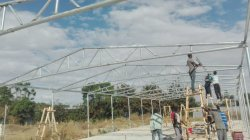 Steel Structure Of Chicken Farm Project In Ethiopia