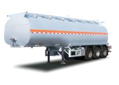 Fuel Tanker Semi Trailer with 3 Axle