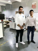 IC Programming System machine customer visiting