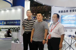 Leaders of Bearing Association visited the exhibition