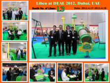 Liben Attened the DEAL 2012 in Dubai.