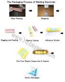 Packaging Process of Welding Electrode