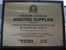 AUDITED SUPPLIER BY SGS 2012