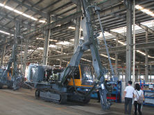 The Assembly Workshop of Top Hammer DTH Drilling Rig