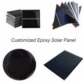 customized epoxy solar panel