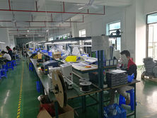 Wire harness assembly line