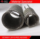 Titanium Twisted Tube Coiling Heat Exchanger