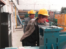 Install fence mesh welding machine in Mexico