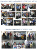 Customers visit us season III 2014