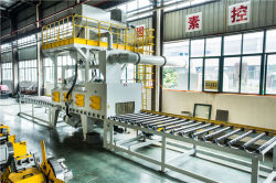 MTR Roller Conveyor Shot Blasting Machine