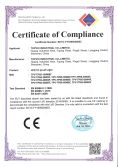 Certification of LED Tri-proof Light