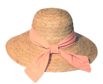 Natural Raffia Straw Beach Hats