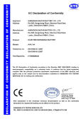 NI-MH BATTERY CE CERTIFICATE