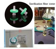 How to filter steroid oil by syringe filter