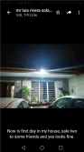 14w solar wall light installed in Mexico