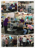 Customers visited our booth at the 121st Canton fair