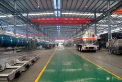 New Aluminum-alloy Fuel Tank Truck/Trailer Workshop