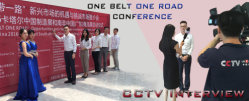 CCTV Interview in One Belt One Road Conference