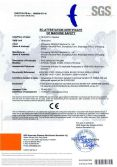 CE Certificate of PCS Series Extruder