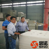 Russia Customer Visted China Filter Press Manufacturer