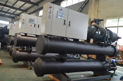No.1 Water Screw Cooled Chiller Production Line