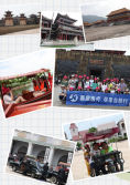 Saikang personnel to Hengdian travel, sing youth