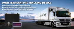 GPS tracking and Remote Temperature Monitoring for Refrigerated Trailers