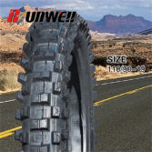 Motorcycle off road tire 110/90-19