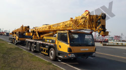 25 ton Truck crane with Cummins engine to Ethiopia