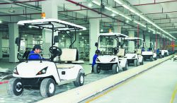 Golf Cart Production Line