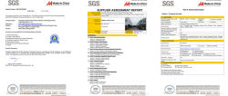 The factory audit by SGS
