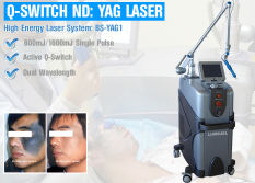 Q Switched ND YAG Laser Machine for Tattoo Freckle Removal