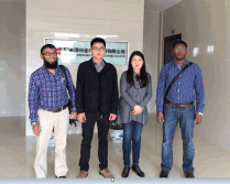 Bangladesh Customer Visit King Machine Factory