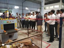 Safeway System were unveiled at the handover ceremony in India