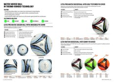 Match Soccer Ball in Thermo-Bonded Technology