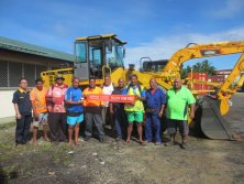 60 sets of agricultural machinery and engineering machines of Cook Islands