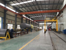 Workshop for aluminum alloy tanker