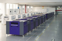 CO2 laser machine workshop